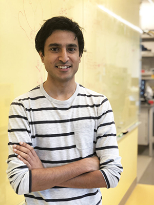 Shreyas Dahotre named NSF graduate fellow