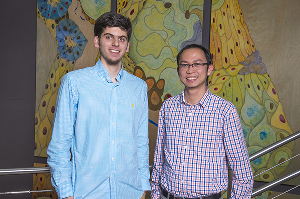 Hassan Fakhoury and Quoc Mac selected for the Petit Scholars Program 2017