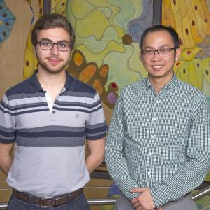 Justin Kahla and Quoc Mac selected for the Petit Scholars Program 2018