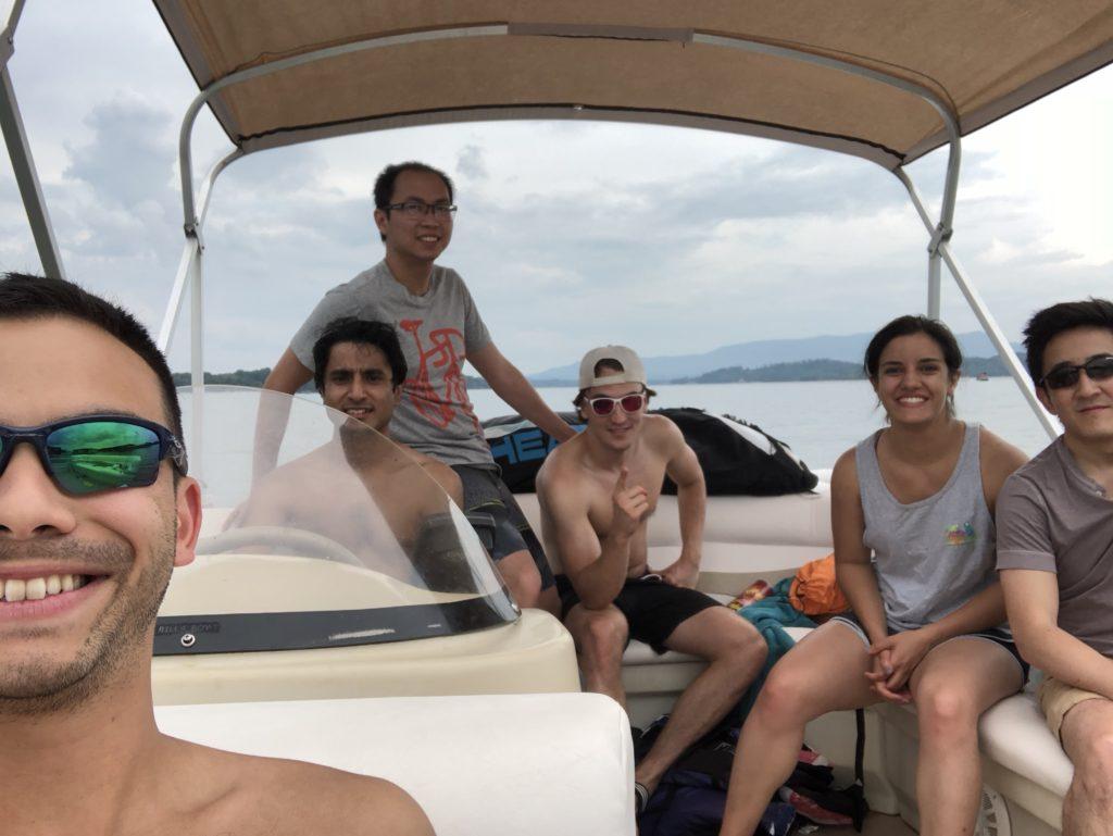 Lab Retreat, Douglas Lake, 2018