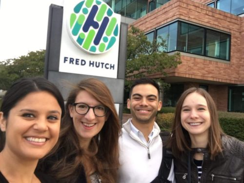 Ian presents at Fred Hutch Cancer Center, Seattle